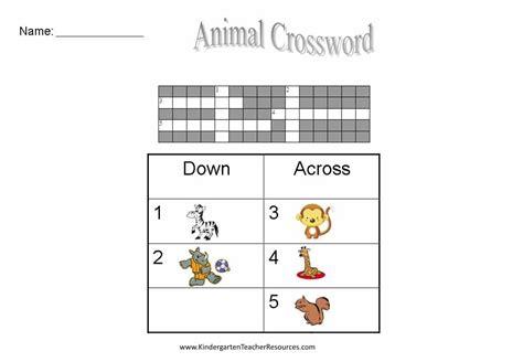free easy crossword puzzles 878 | crossword worksheets 3