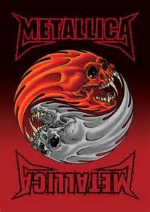 Metallica Skull Ying Yang
