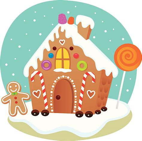 Gingerbread House Clip Royalty Free Gingerbread House Clip Vector Images