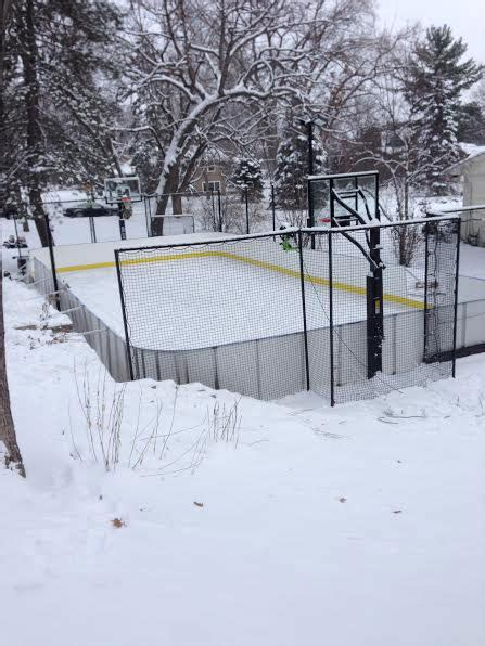 Backyard Rink Tips by Batting Cages For Newton Southborough And Weston