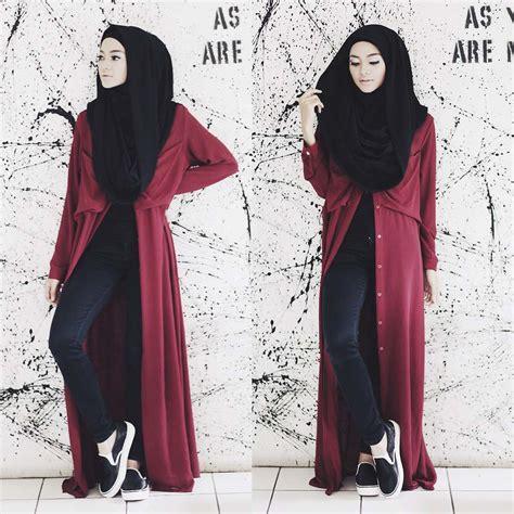 abaya maxi dress terbaru tutorial in the casual style hijabiworld