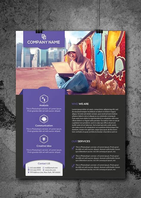 corporate  pager  corporate design