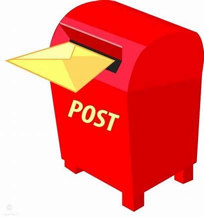 Mailbox Transparent Box Office Mail Letter Clip
