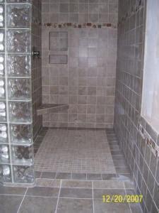 custom tile showers mn home remodeling