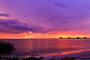 Beautiful Beach Sunset Tampa Florida
