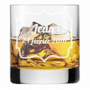 Verre A Whisky : verre whisky anniversaire personnalis amikado ~ Teatrodelosmanantiales.com Idées de Décoration