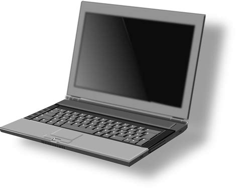 Computer, Notebook, Laptop, Cartoon, Free, Portable, Pc