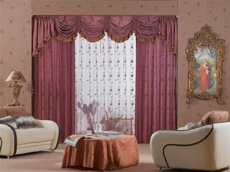 Kitchen Bay Window Curtain Ideas - curtain ideas for living room windows violet colors decoration curtain ideas for living room