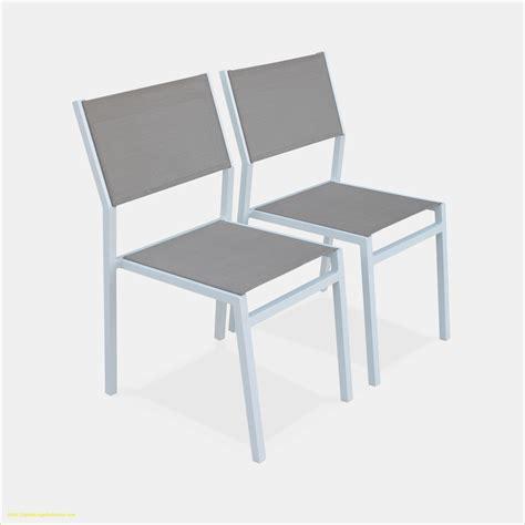chaise de jardin aluminium stunning salon de jardin aluminium et polywood images