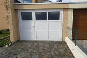 porte de garage vitree obasinccom With porte de garage enroulable avec porte intérieure vitrée blanche