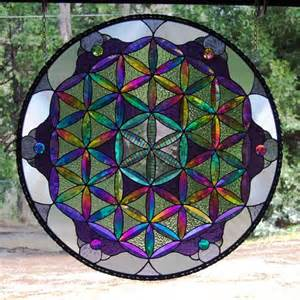 Sacred Geometry Stained Glass Patterns