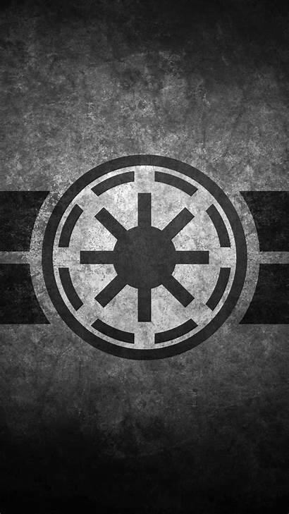 Wars Republic Symbol Mandalorian Star Galactic Wallpapers
