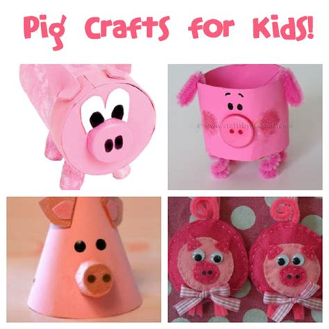 national pig day fun family crafts