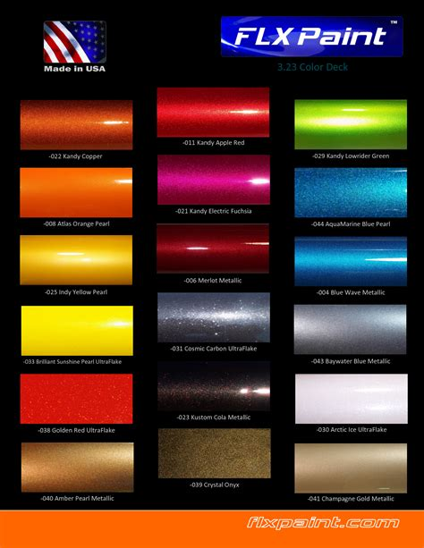 hd metallic car paint automotive paint color chart image