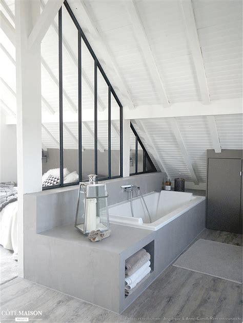 chambre d h es montpellier verriere salle de bain sur mesure