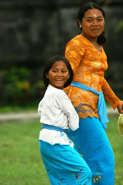 Bali Mother and Daughter