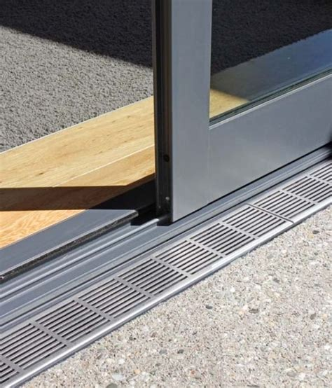 flush track at sliding door detail search