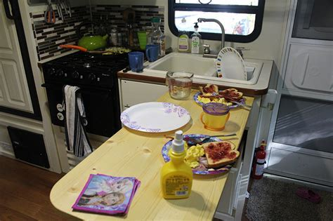 How to Add 36 Inches To Your Too Small RV Kitchen Countertop