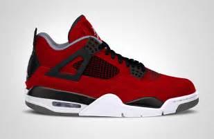 Jordan 4 Red Suede