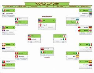 Visio World Cup 2010 Bracket  U2013 Visio Guy
