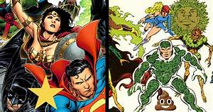 Dc, The, 5, Best, Superhero, Teams, Of, All, Time, U0026, The, 5, Worst