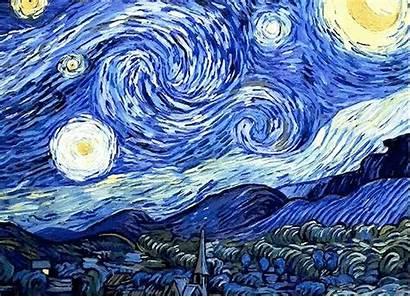 Starry Night Aesthetic Aesthetics Gogh Vincent Sight