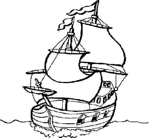 Barco Dibujo Para Pintar by Dibujo De Barco Para Colorear Dibujos Net