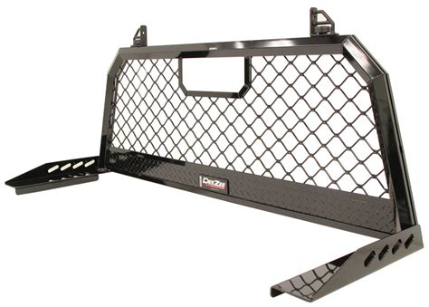 aluminum headache rack ford f 250 and f 350 duty deezee aluminum headache