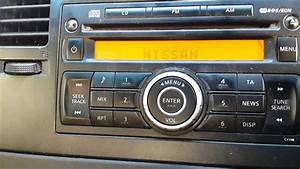 Nissan Car Radio- Stereo System Code Solution