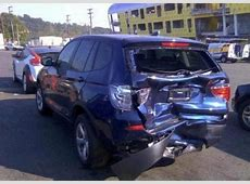 Export Salvage 2011 BMW X3 XDRIVE28I BLUE ON BLACK