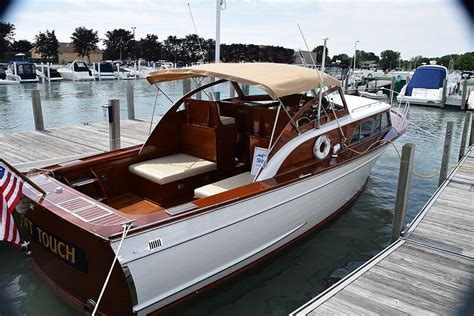 Classic Wooden Speed Boats For Sale by Classic Antique Wooden Boats For Sale Port Carling Boats
