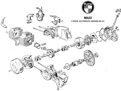 handy diagram    puch engine mopeds lilchopz