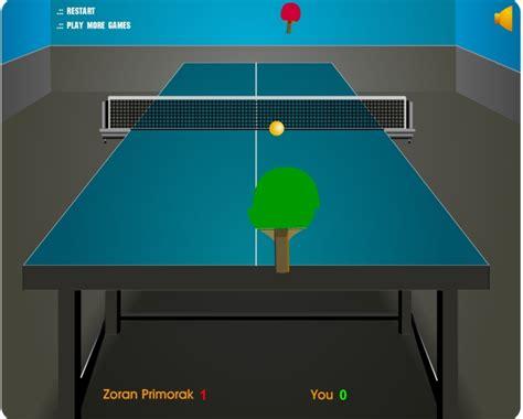 jeu ping pong gratuit en ligne
