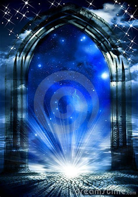 mystical gate  dreams royalty  stock images image