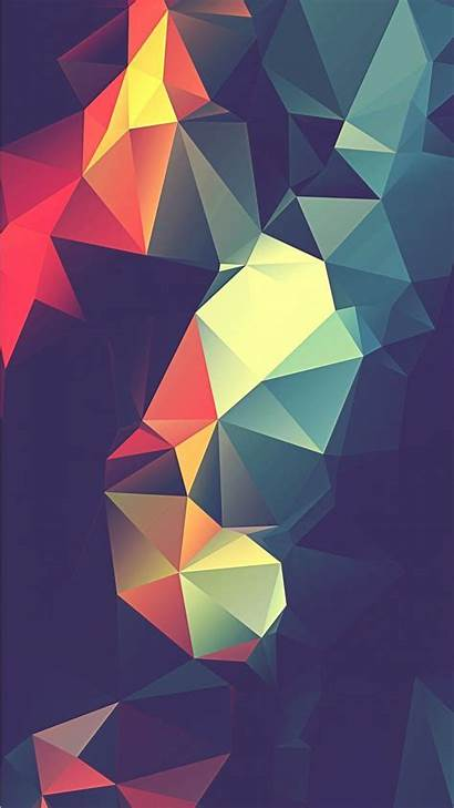 Iphone Abstract Wallpapers Background Retro Colorful Phone