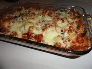 Pasta Lasagna Casserole