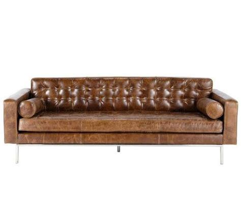 maison du monde canapé cuir decoration com canap cuir marron vieilli capitonn 3 places