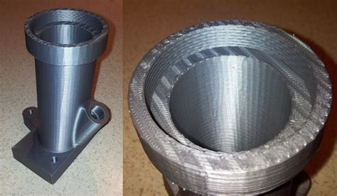 pipe au bureau prints in stainless steel pla magnetic iron pla