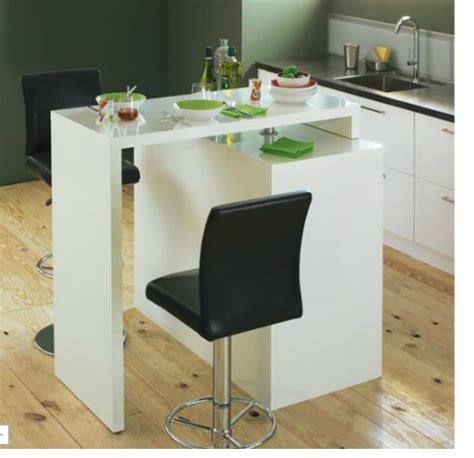 table de cuisine modulable table de bar modulable