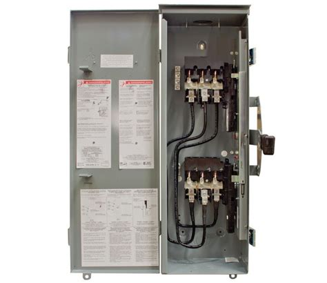 100 square d manual transfer switch 64863 009