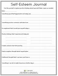 Best Self-Esteem Worksheets - ideas and images on Bing | Find what ...