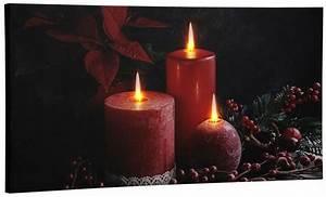 Led Bild Kerzen : dreams led bild 30x60 cm kerzen online kaufen otto ~ Frokenaadalensverden.com Haus und Dekorationen