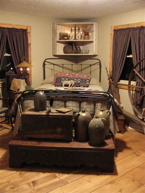 primitive curtains for living best 25 country bedroom decorations ideas on