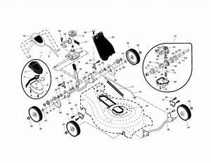917 371822 Craftsman Lawn Mower 160cc Honda Engine 21 Inch