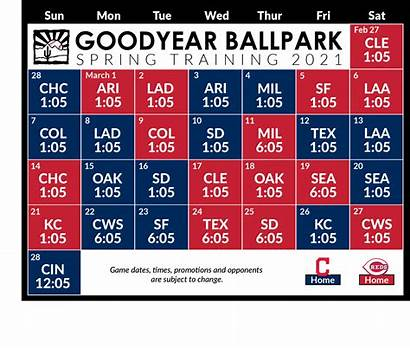 Schedule Spring Training Return Forward Goodyear Az