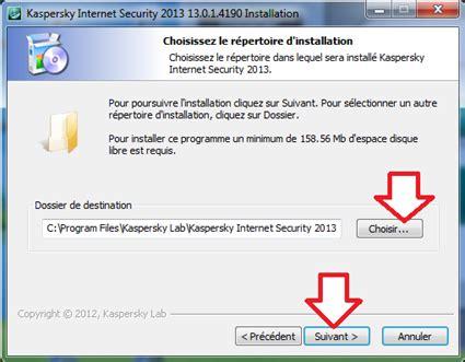 comment installer kaspersky security