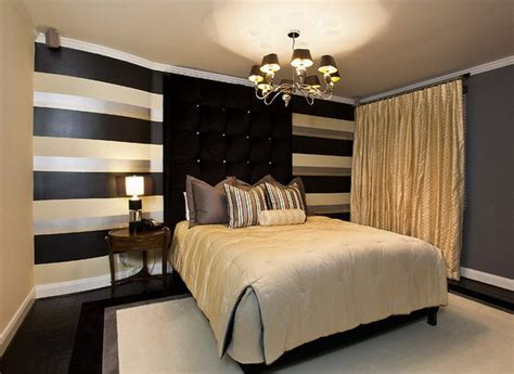 Black And Gold Bedroom Design Ideas by Black And Gold Bedroom Design Giving A Luxury Themed