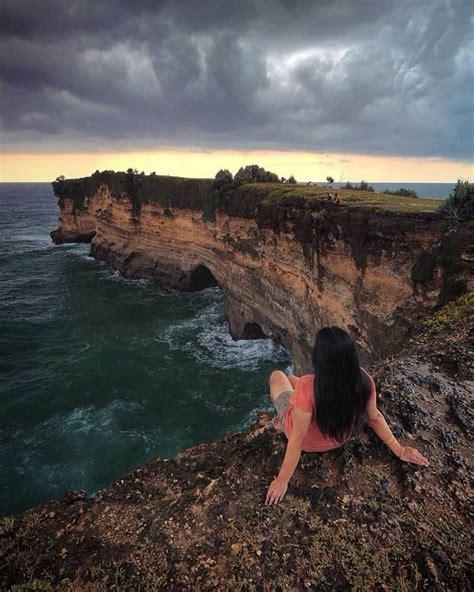 pantai karang bolong kebumen jawa tengah lokasi rute