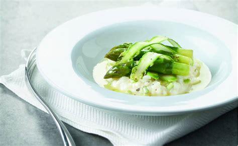 l ecole de cuisine de risotto aux asperges vertes par l 39 école de cuisine alain