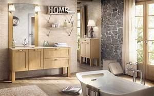 vasque retro salle de bain With salle de bain design avec meuble bois salle de bain